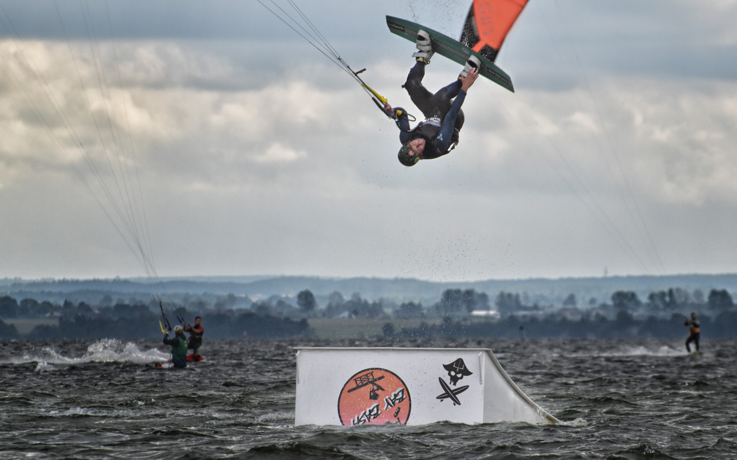 kiteboarding features kite park grab hel flyn bay bash poland
