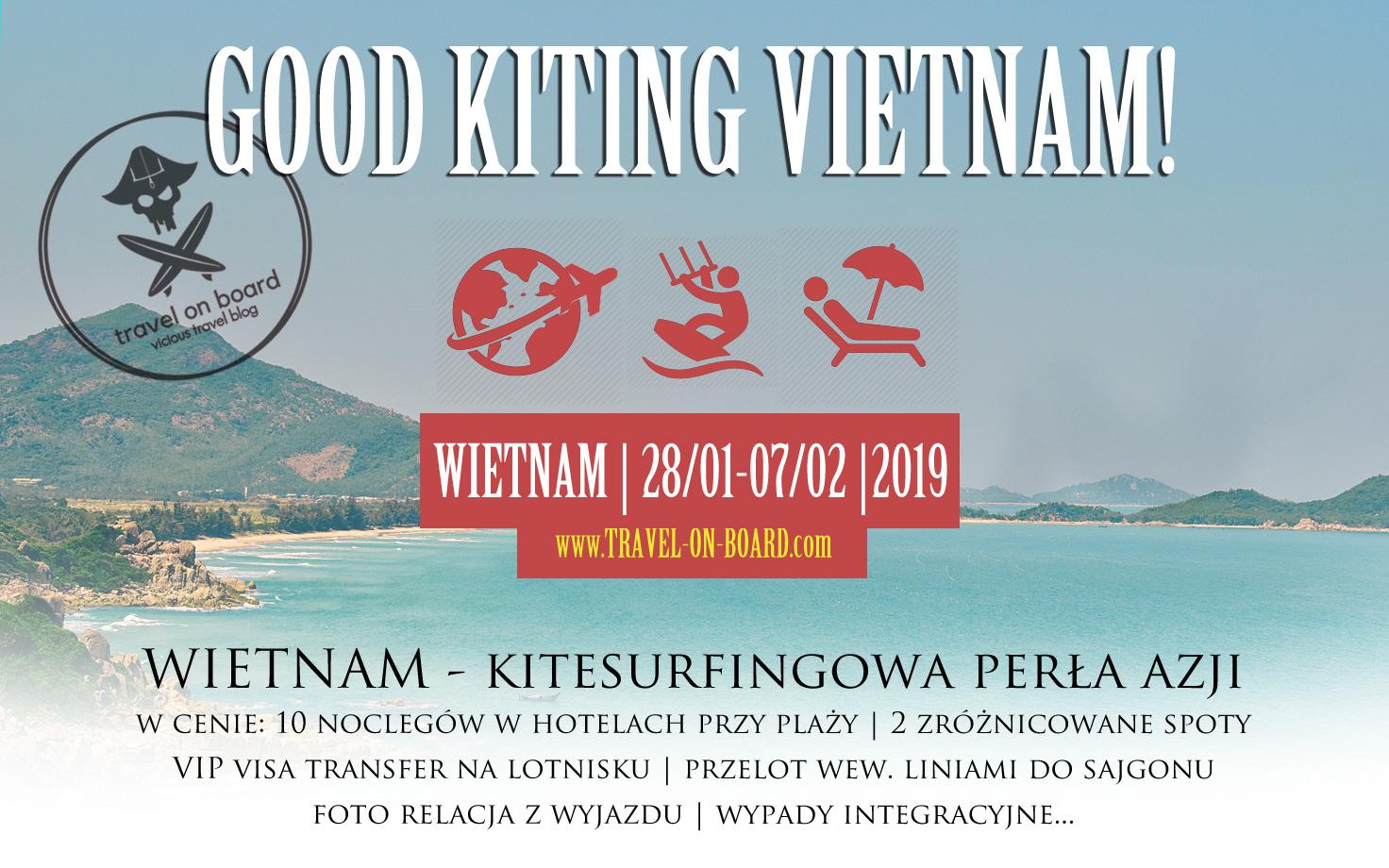 kitesurfing wyjazd do wietnamu phan rang mui ne vip 2019