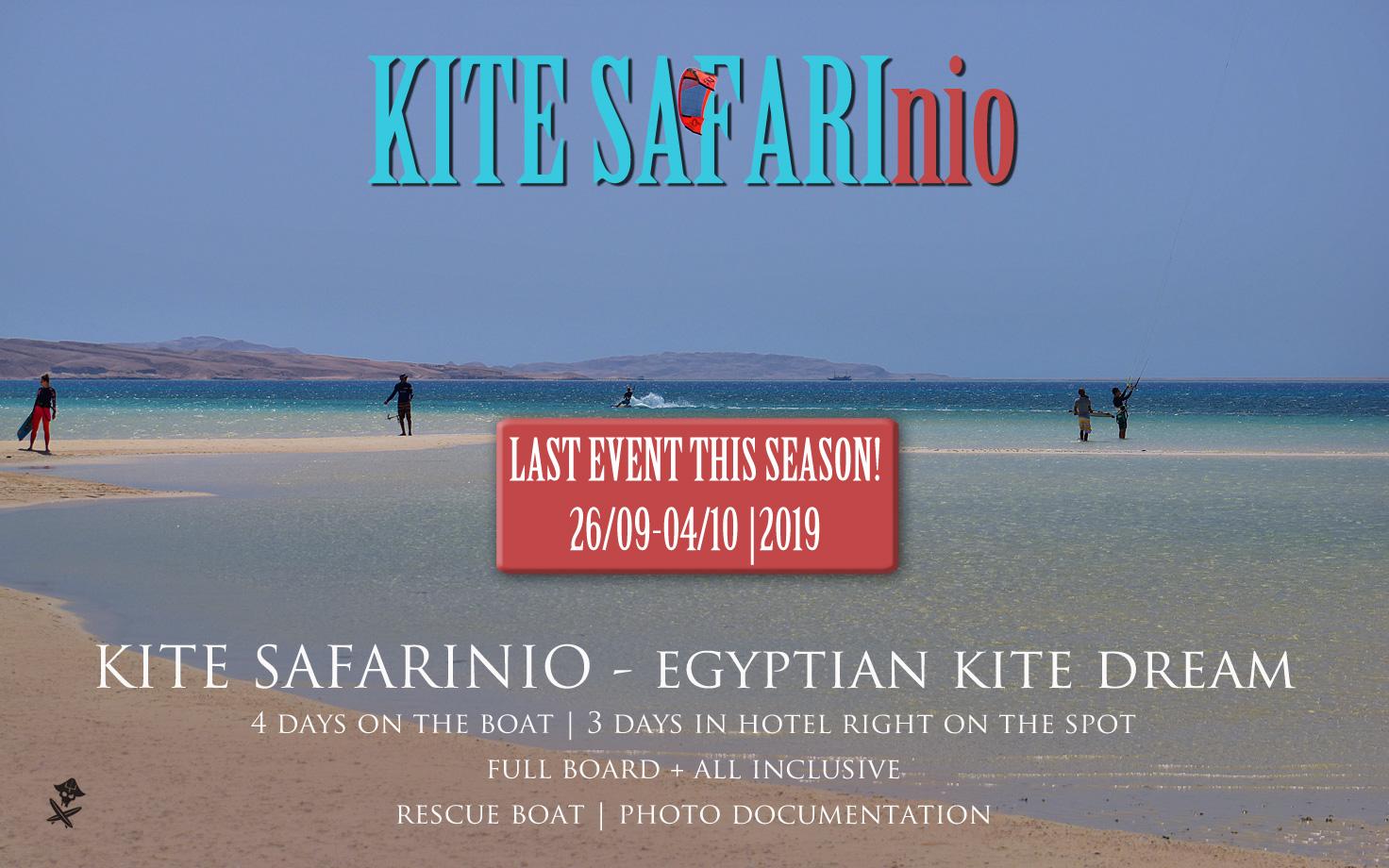 kite safari egipt wyjazdy jacht raj