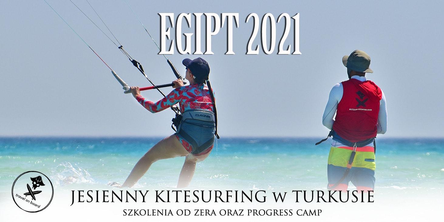 egipt wyjazd kitesurfing z doktorem